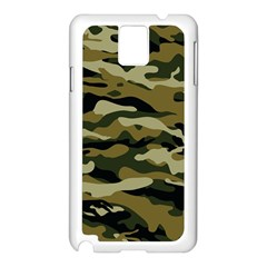 Military Vector Pattern Texture Samsung Galaxy Note 3 N9005 Case (White)