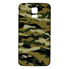 Military Vector Pattern Texture Samsung Galaxy S5 Back Case (white)