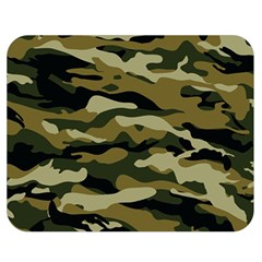 Military Vector Pattern Texture Double Sided Flano Blanket (medium)