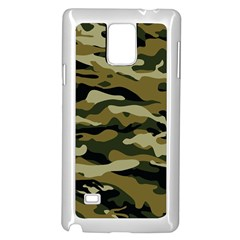 Military Vector Pattern Texture Samsung Galaxy Note 4 Case (white)