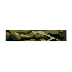 Military Vector Pattern Texture Flano Scarf (Mini)