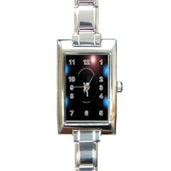 This Is An It Logo Rectangle Italian Charm Watch