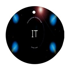 This Is An It Logo Ornament (round)
