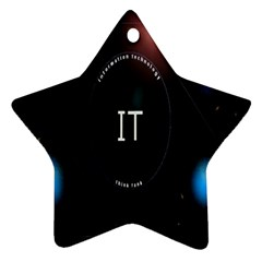 This Is An It Logo Ornament (star)
