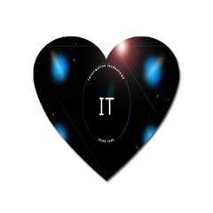 This Is An It Logo Heart Magnet