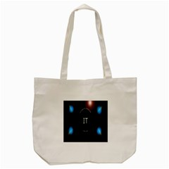 This Is An It Logo Tote Bag (Cream)