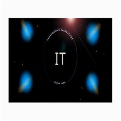 This Is An It Logo Small Glasses Cloth