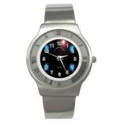 This Is An It Logo Stainless Steel Watch