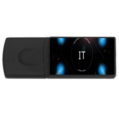 This Is An It Logo USB Flash Drive Rectangular (4 GB)