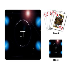 This Is An It Logo Playing Card