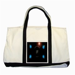 This Is An It Logo Two Tone Tote Bag
