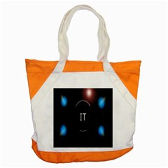 This Is An It Logo Accent Tote Bag