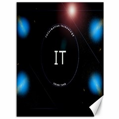 This Is An It Logo Canvas 36  X 48