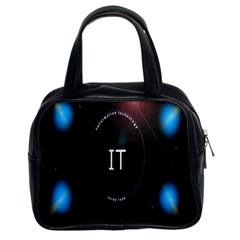 This Is An It Logo Classic Handbags (2 Sides)