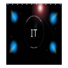 This Is An It Logo Shower Curtain 66  X 72  (large)