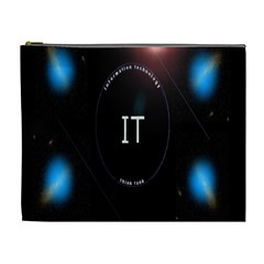 This Is An It Logo Cosmetic Bag (xl)