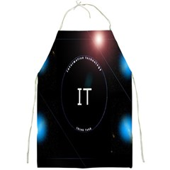 This Is An It Logo Full Print Aprons
