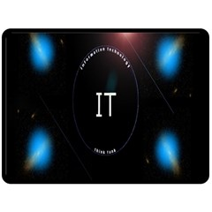 This Is An It Logo Fleece Blanket (large)