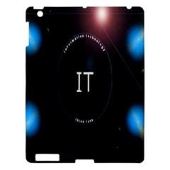 This Is An It Logo Apple iPad 3/4 Hardshell Case