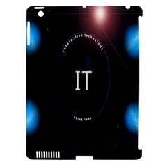 This Is An It Logo Apple iPad 3/4 Hardshell Case (Compatible with Smart Cover)