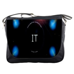 This Is An It Logo Messenger Bags