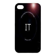 This Is An It Logo Apple iPhone 4/4S Premium Hardshell Case