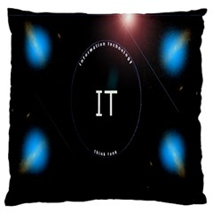 This Is An It Logo Large Cushion Case (One Side)