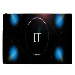 This Is An It Logo Cosmetic Bag (XXL)