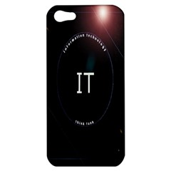 This Is An It Logo Apple Iphone 5 Hardshell Case