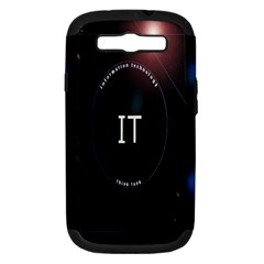 This Is An It Logo Samsung Galaxy S Iii Hardshell Case (pc+silicone)