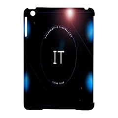 This Is An It Logo Apple iPad Mini Hardshell Case (Compatible with Smart Cover)