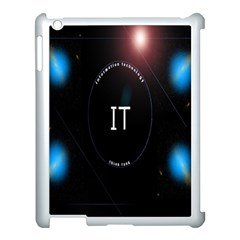 This Is An It Logo Apple iPad 3/4 Case (White)