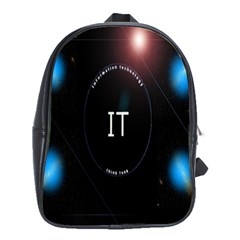 This Is An It Logo School Bags (XL)