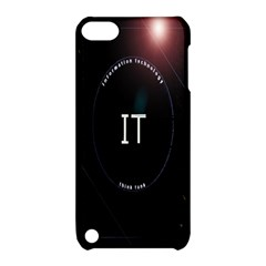 This Is An It Logo Apple iPod Touch 5 Hardshell Case with Stand