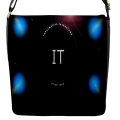 This Is An It Logo Flap Messenger Bag (S)