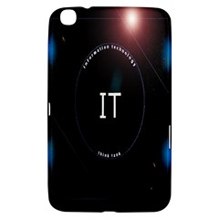 This Is An It Logo Samsung Galaxy Tab 3 (8 ) T3100 Hardshell Case