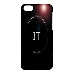 This Is An It Logo Apple iPhone 5C Hardshell Case