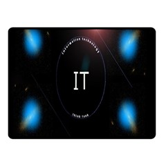 This Is An It Logo Double Sided Fleece Blanket (Small)
