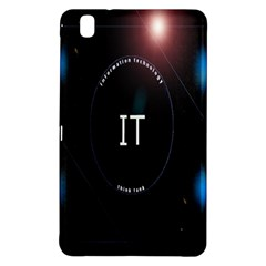 This Is An It Logo Samsung Galaxy Tab Pro 8 4 Hardshell Case
