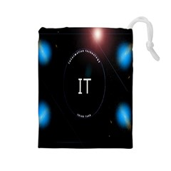 This Is An It Logo Drawstring Pouches (Large)