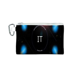 This Is An It Logo Canvas Cosmetic Bag (S)