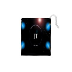 This Is An It Logo Drawstring Pouches (XS)
