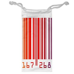 Colorful Gradient Barcode Jewelry Bag