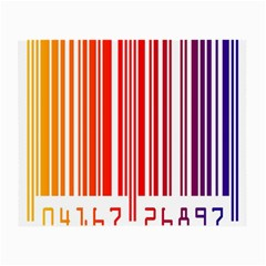 Colorful Gradient Barcode Small Glasses Cloth (2-Side)