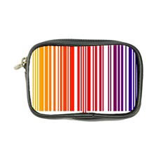 Colorful Gradient Barcode Coin Purse