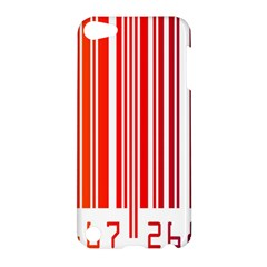 Colorful Gradient Barcode Apple iPod Touch 5 Hardshell Case