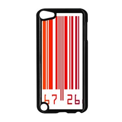 Colorful Gradient Barcode Apple iPod Touch 5 Case (Black)