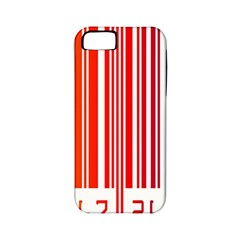 Colorful Gradient Barcode Apple Iphone 5 Classic Hardshell Case (pc+silicone)