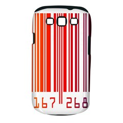 Colorful Gradient Barcode Samsung Galaxy S III Classic Hardshell Case (PC+Silicone)