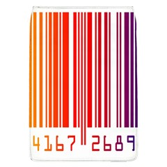 Colorful Gradient Barcode Flap Covers (L)